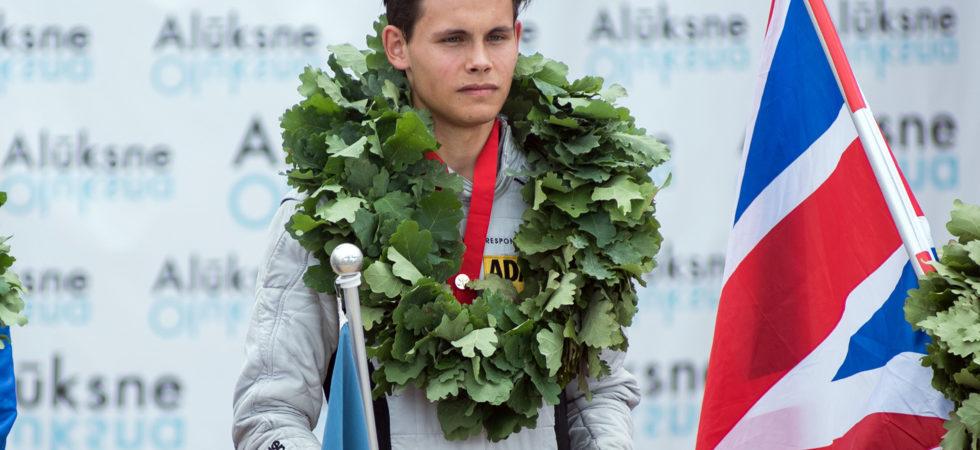 Morgan Jernfast Europamästare i Formel 4