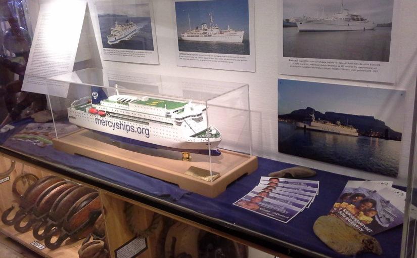 Utställning om Mercy Ships på Vikens Sjöfartsmuseum