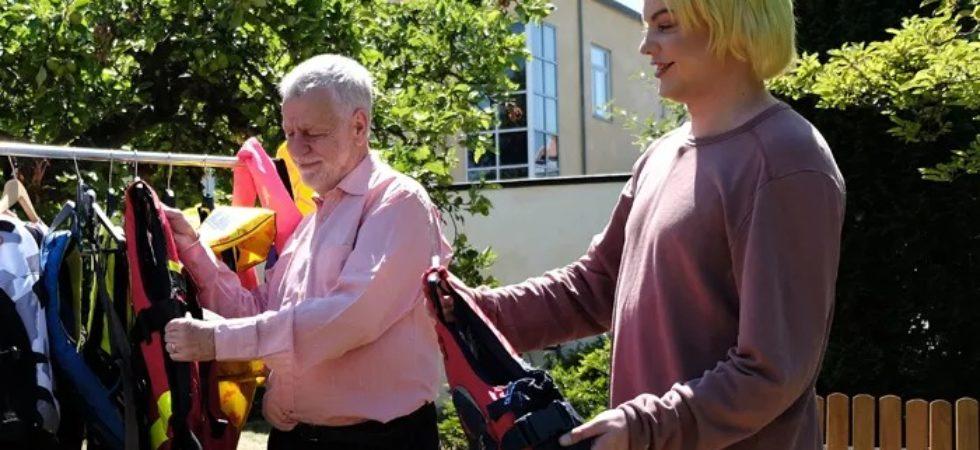 Björn Hellberg kampanjar för säkrare båtliv
