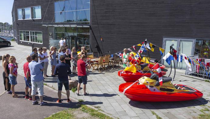Ny Rescuerunner till stationen i Vadstena och Motala