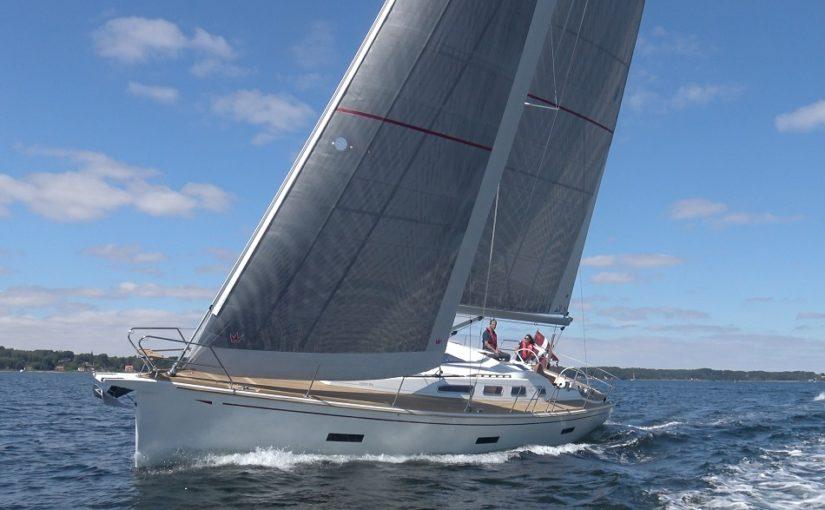 Faurby 460E världspremiär på Marstrand Boat Show