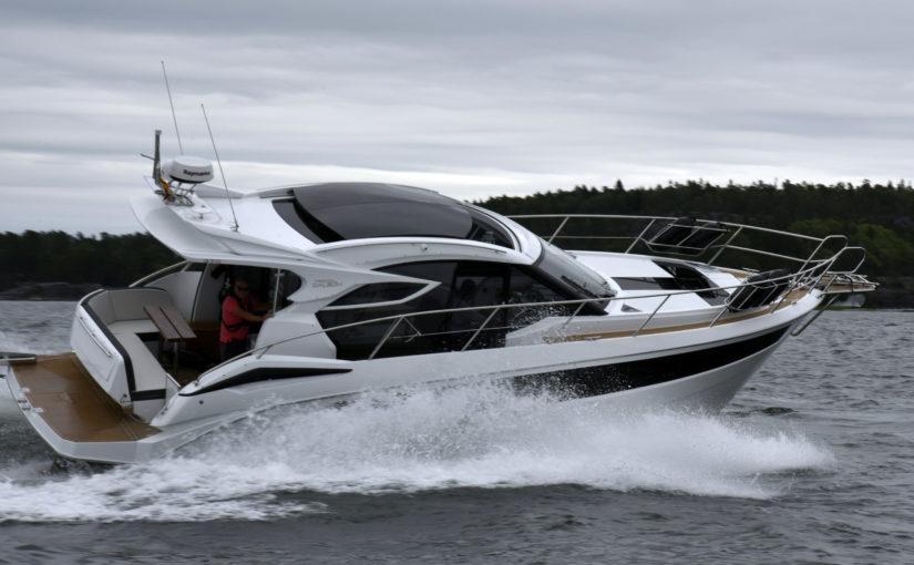 Galeon 370 HTC – premiär på Allt på Sjön
