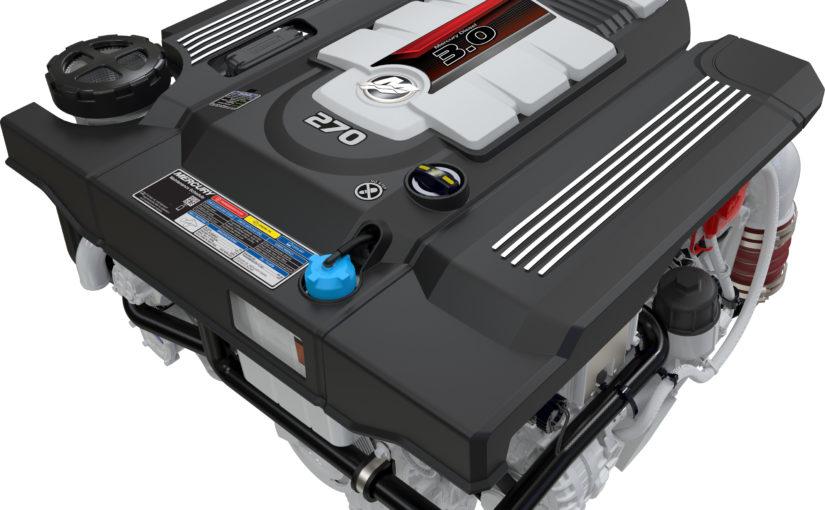 Mercury lanserar treliters dieselmotorer för drev