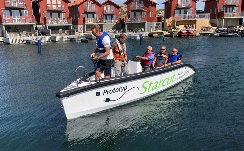 Ny svensk eldriven och planande båt