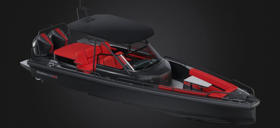 Axopar och Brabus visar ny båtmodell