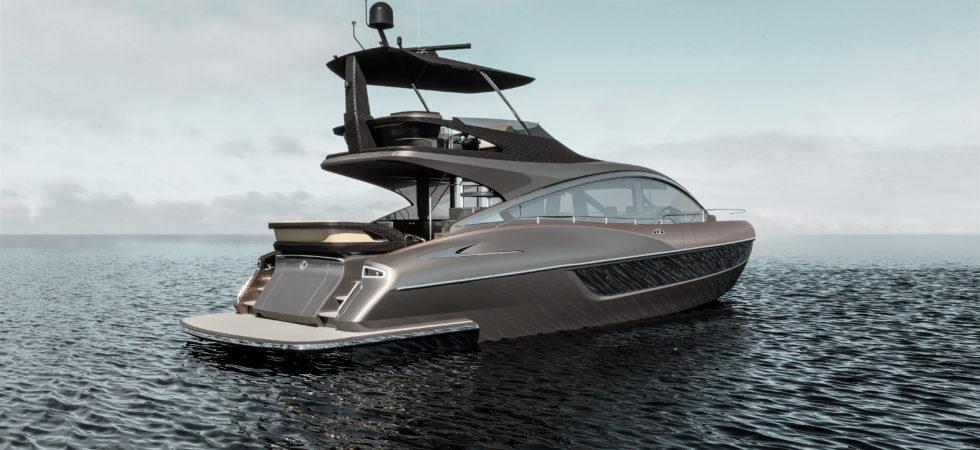 Premiär för nya yacht Lexus LY 650