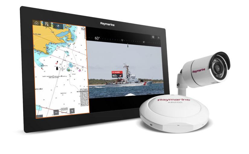 Raymarine visar AR-teknik för båtar