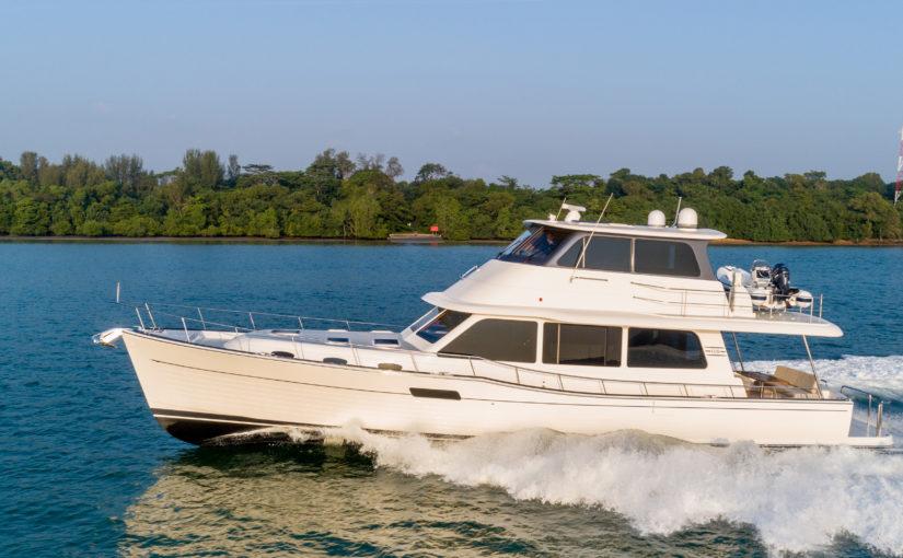 Mångsidig långfärdsbåt – Grand Banks 60 SL