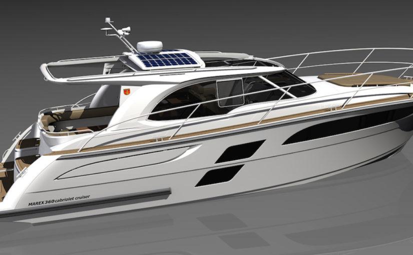 Marex visar ny 360 Cabriolet Cruiser