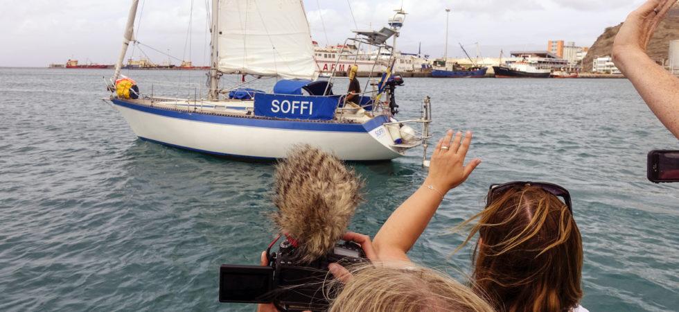 Eskadern Viking Explorers seglar över Atlanten igen
