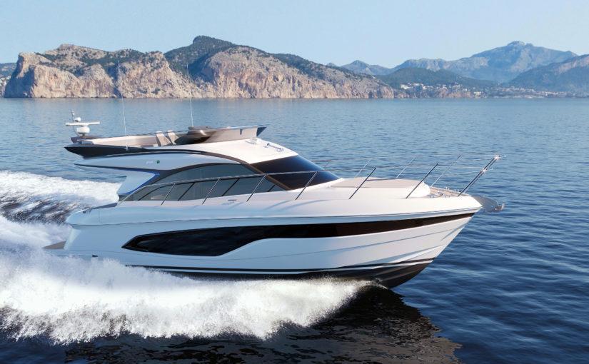 Helt ny 45 fots flybridgebåt från Princess Yachts
