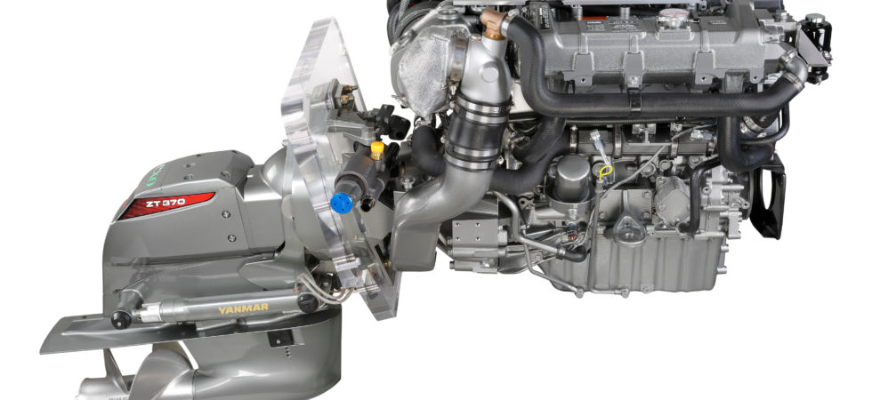 Yanmar lanserar ny serie drevmotorer