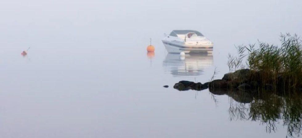 Kör säkrare med båten vid dålig sikt