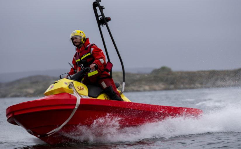 Tidig julklapp för Sundsvalls frivilliga sjöräddare