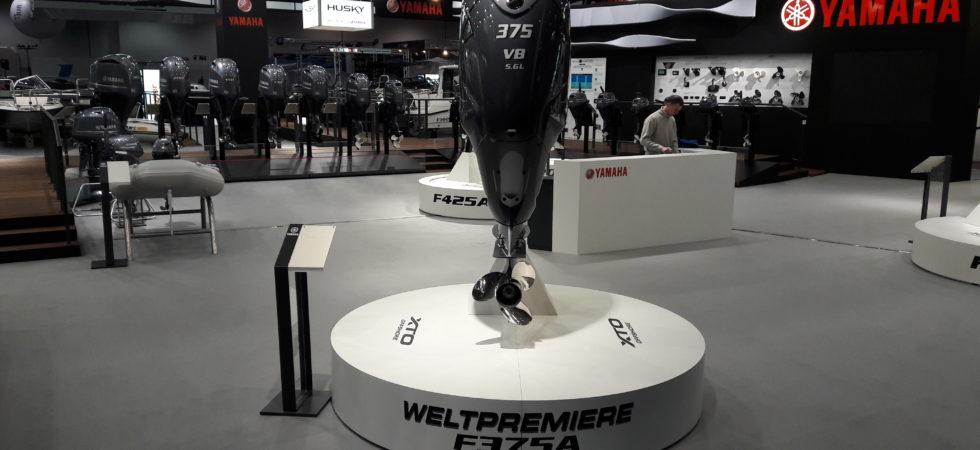 Yamaha lanserar ny V8 på 375 hk i Düsseldorf