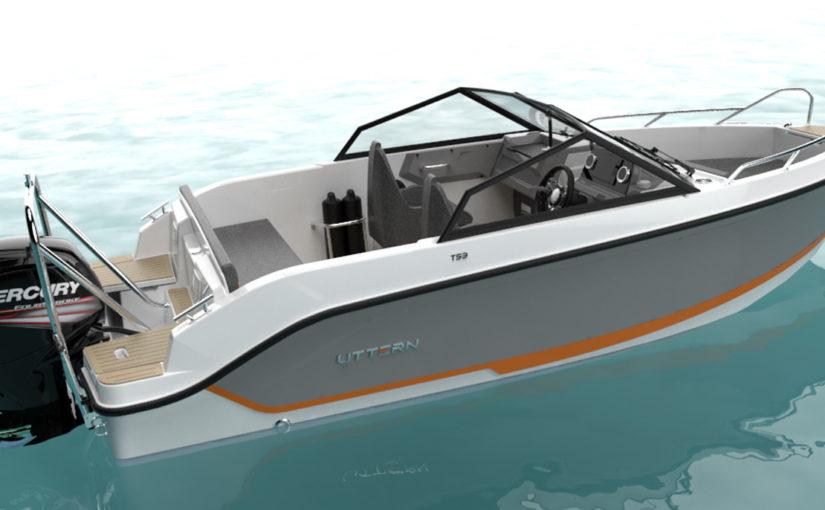 Uttern lanserar ny 5,23 m dagtursbåt