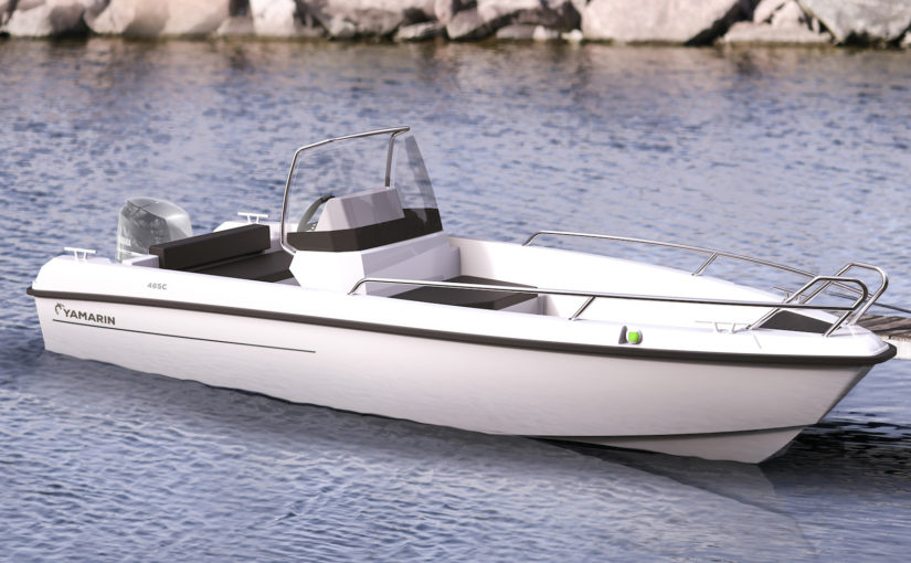 Liten styrpulpetbåt från Yamarin