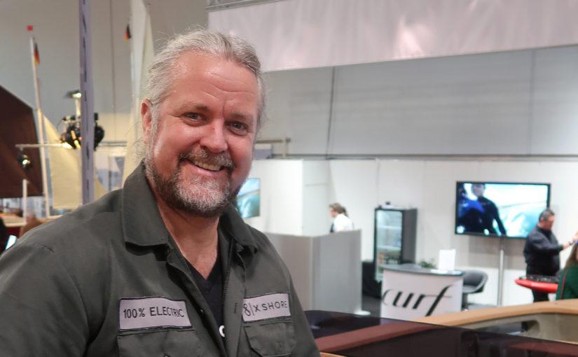 Elbåtsentreprenören Konrad Bergström gästar Båtmässan