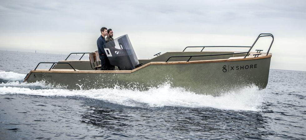 X Shore lanserar ny banbrytande båtmodell