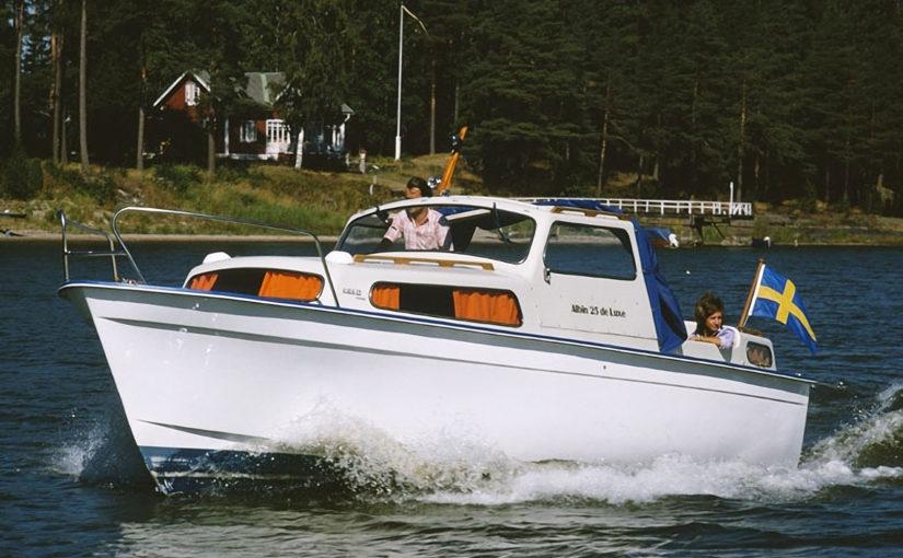Albin 25 åter i fokus på båtmässan