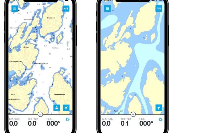 Ny plattform för Hydrographicasjökort