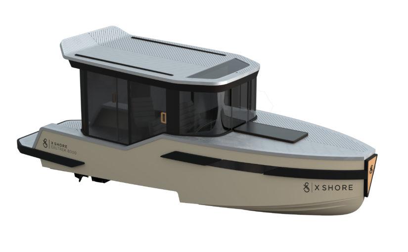 Eldrivna Eeltrek 8000 – elbåt med hytt