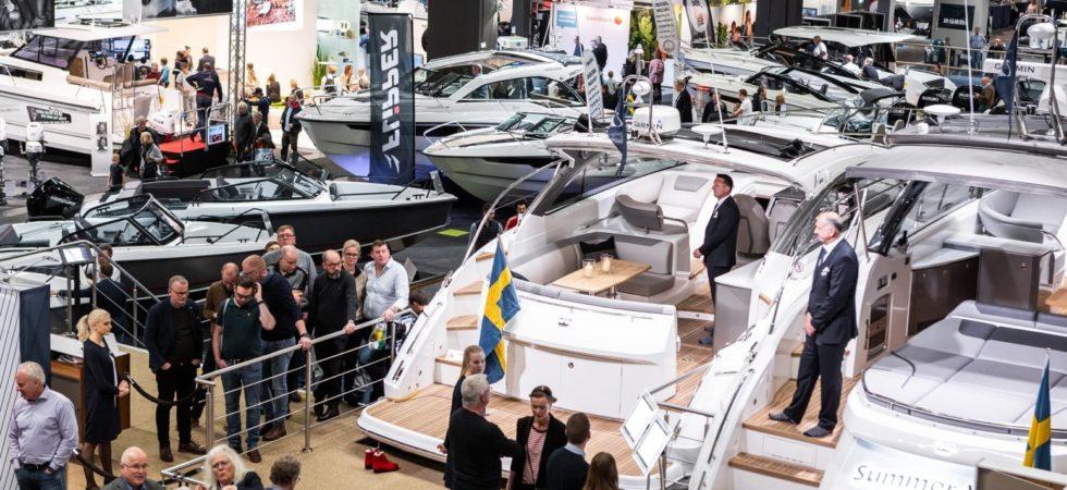 Bra båtförsäljning på Båtmässan i Göteborg