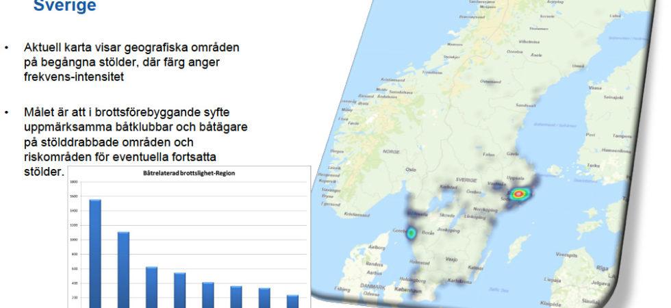 Ny rapport om båtmotorstölder