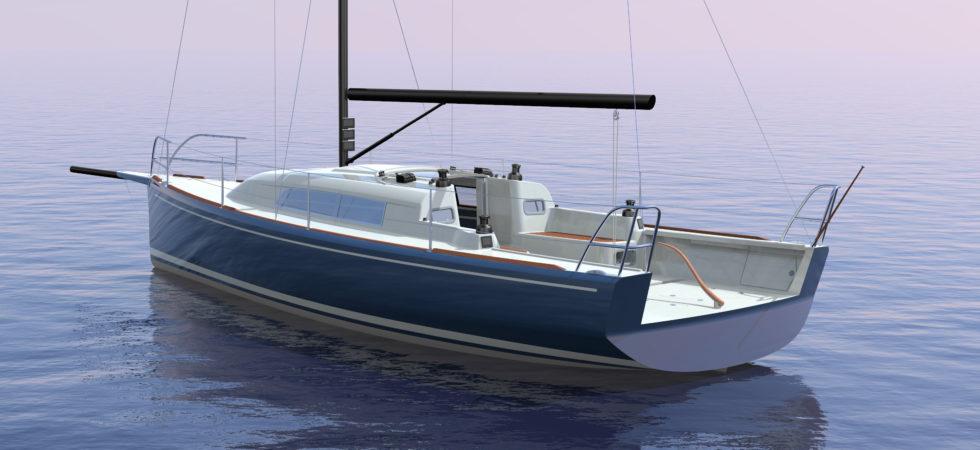 Snabb seglare från Heyman Yachts