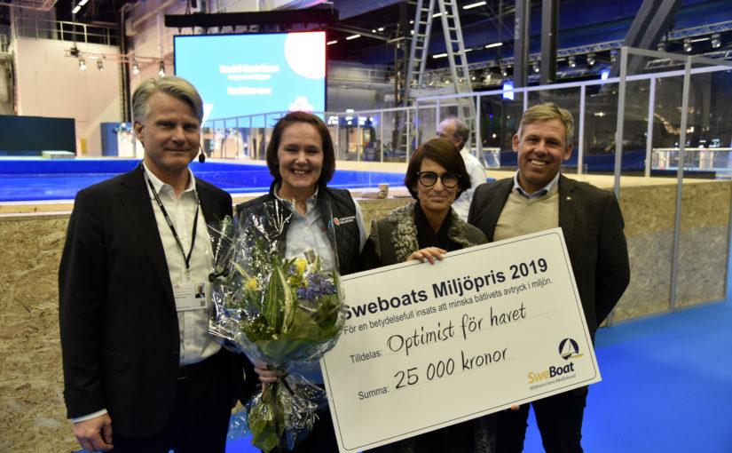 Optimist för havet får Sweboats nya Miljöpris