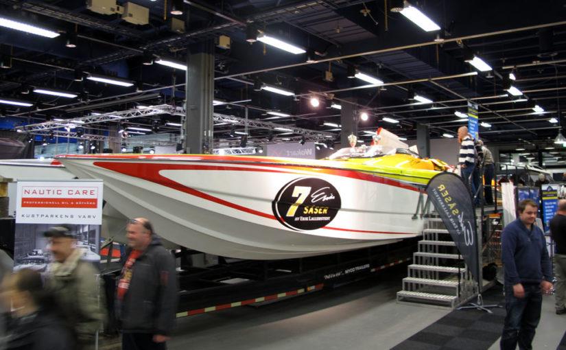 Snabbaste båten i Sverige till salu
