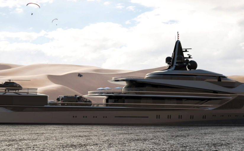 105 superyacht för lyxexpeditioner