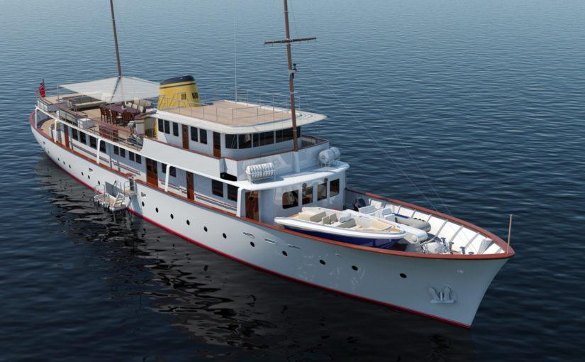 Feadship totalrenoverar klassisk yacht