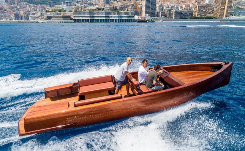 Miljövänliga båtar testas i Monaco