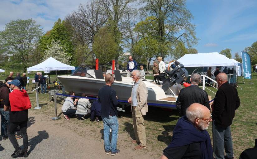 Första mässan för elbåtar