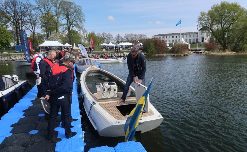 Spännande utbud av elbåtar på ny mässa
