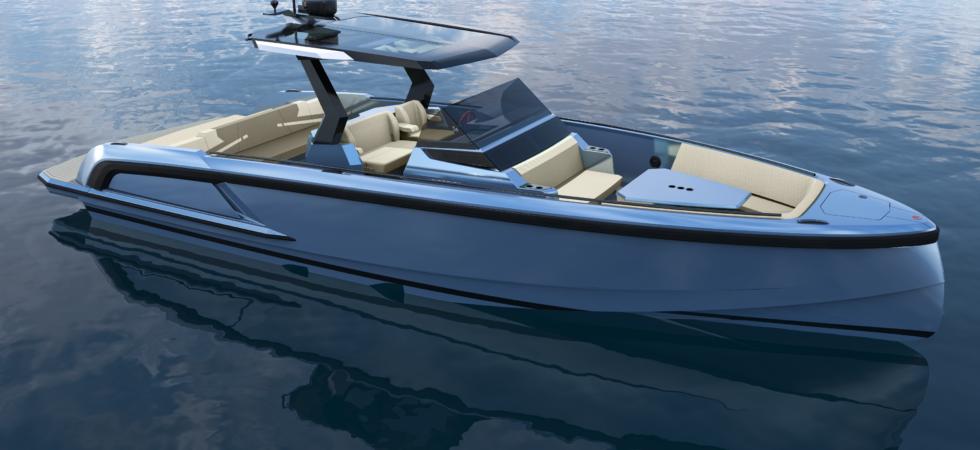 Toppmodern dagtursbåt med allt extra