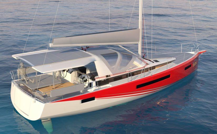 Segelbåt för delningsekonomer