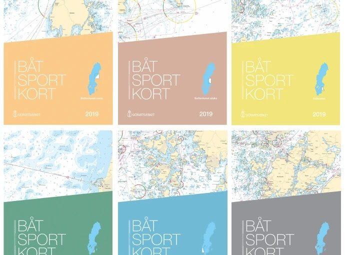Alla årets båtsportkort är nu uppdaterade
