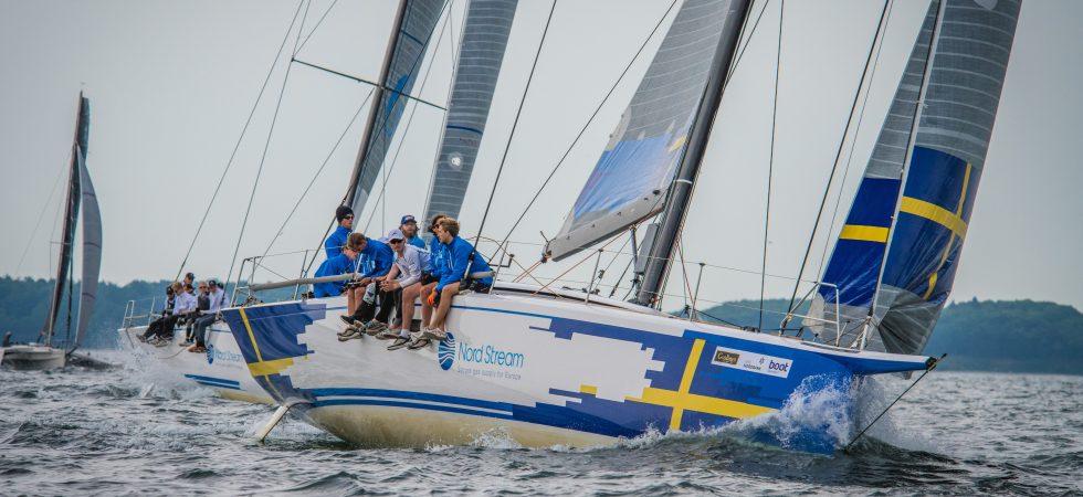 Christian Hardings team ska ta hem segern i Nord Stream Race