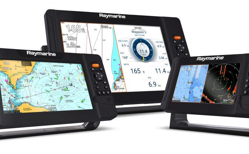 Raymarine Element S – nya skärmar för navigation