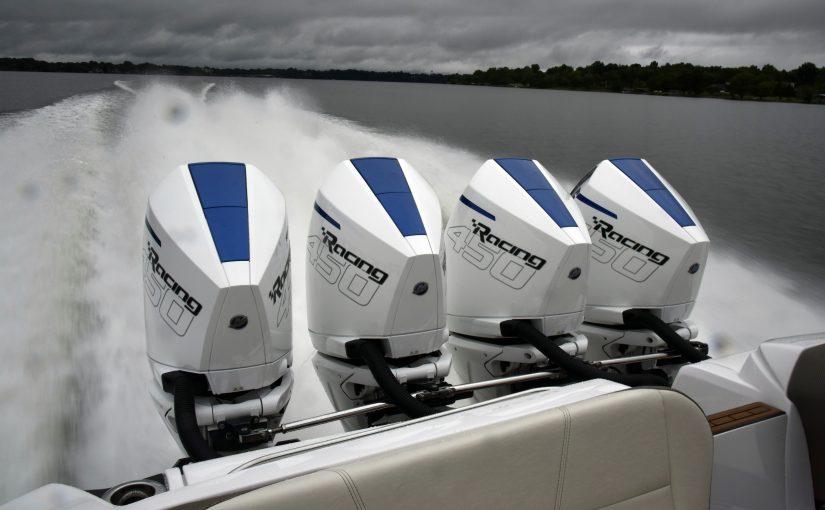 Mercury toppar med V8 på 450 hk - Båtliv