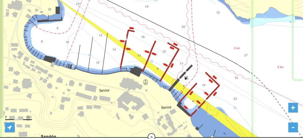 Eniro på sjön släpper hamnguidekartor från Hydrographica