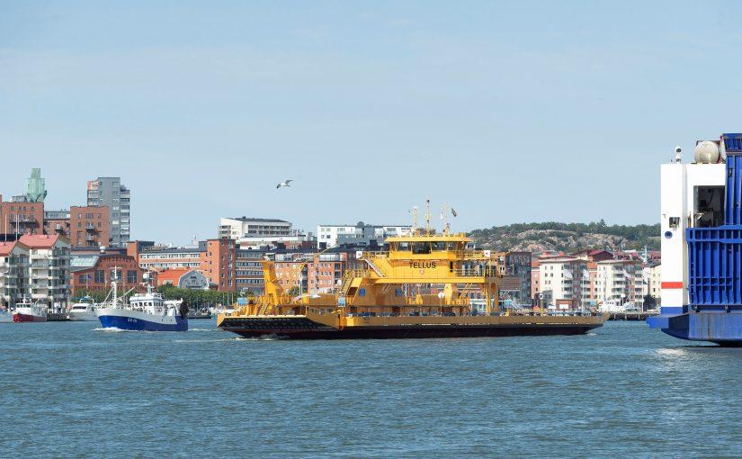 Miljöfärjan Tellus döptes i Göteborg