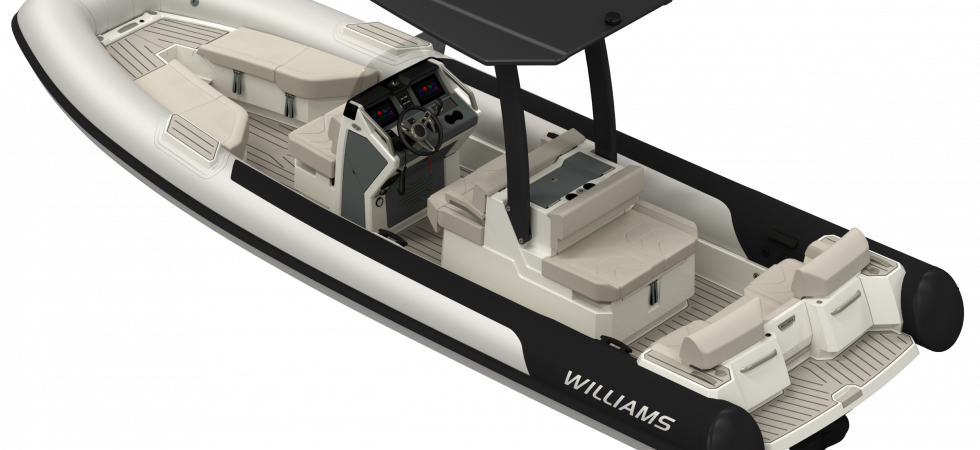Williams jet tender för superyachts