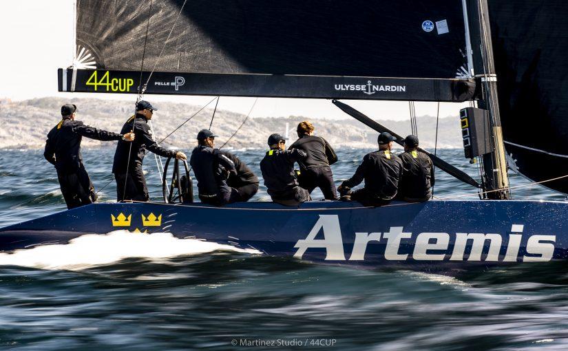 Franska Aleph leder 44Cup VM Marstrand