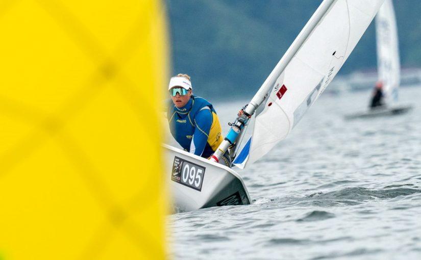 Josefin Olsson i topp på VM