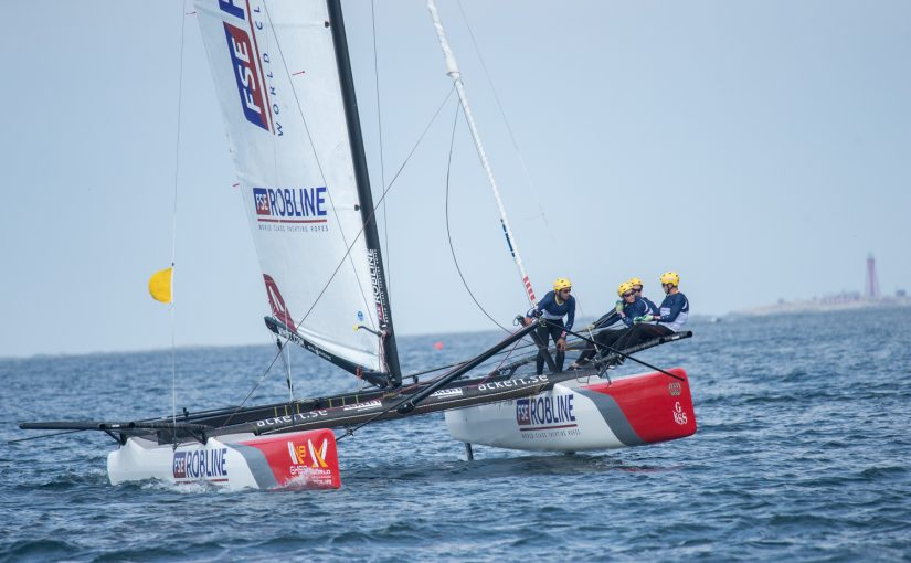Två svenska team vidare till finaldag på Marstrand