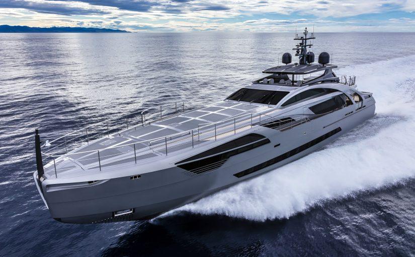 Pershing 140 – nytt italienskt flaggskepp