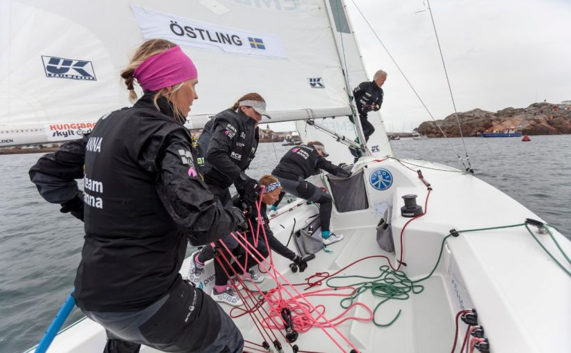 """Anna Östling inför VM i Lysekil: """"Vi älskar att segla och att vinna"""""""